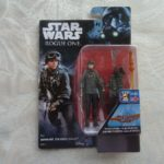 StarWars figurine : Figurine star wars, Rogue one, sergeant Jyn Erso (EADU) Disney 2018