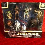 Figurine StarWars : DISNEY Star Wars Collectible Figurine Set Theme Park Exclusive Star Tours 2007