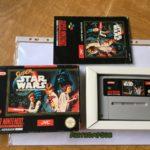 Super Star Wars game Snes Super Nintendo - jeu StarWars