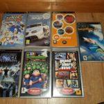 7 PSP games -EA Replay, GTA LIBERTY CITY - pas cher StarWars