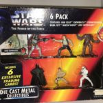StarWars figurine : Star Wars Power of the Force Die Cast Metal Collectibles Figurines New In Box