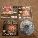 Star Wars Episode 1 The Phantom Menace Ps1 - Avis StarWars