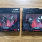 StarWars figurine : Star Wars Black Titanium Series Kylo Ren, Poe, Tie Fighter Helment Lot New