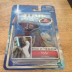 Figurine StarWars : Star Wars Attack Of The Clones Yoda Jedi  Master Action Figure,Factory Sealed!