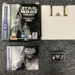 Star Wars Trilogy Game Boy Advance GBA - pas cher StarWars
