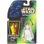 StarWars collection : Star Wars puissance de Force: Princesse Leia Organa Vert Carte Kenner 1997, Neuf