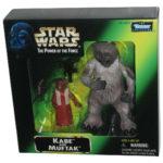 StarWars figurine : Star Wars Kabe & Muftak Hasbro (1998) Mail-Away Ensemble Figurine Jouet