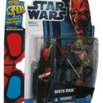 Figurine StarWars : Star Wars Découvre The Force Exclusif (2012) Darth Maul Action Figure W/3D Gla