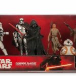 StarWars collection : NEW Disney Store Star Wars The Force Awakens 6 Figurine Playset - NIB