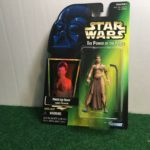 StarWars collection : Star Wars Power Of The Force Princess Leia Jabba's Prisoner Action Figure