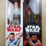 StarWars figurine : Star Wars The Last Jedi Rey Jedi Training Action Figure and Finn