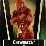 Figurine StarWars : Chewbacca non Ouvert Action Figurine 1995 Star Wars POTF2 Vert Holo État Neuf