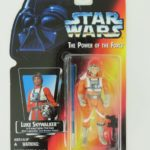 Figurine StarWars : Kenner Star Wars Luke Skywalker The Power of the Force Orange Figurine 1995