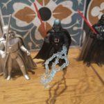 StarWars collection : Lot 3 Figurines Star Wars Dark vador Emperor's Wrath SILVER EDITION  flash back