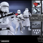 StarWars collection : Hot Toys Star Wars: The Force Awakens First Ordre Snowtrooper Officier Figurine