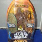 StarWars figurine : Star Wars Chewbacca Force Battlers Figurine Articulée Wookie Fury Boulder