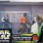 StarWars collection : Star Wars - The Power of the Force 69738 - Cantina Showdown 3 Figure Set
