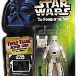 StarWars collection : Star Wars, le Pouvoir de la Force Mr Freeze Cadre Snowtrooper Action Figurine