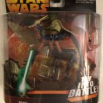 StarWars figurine : Yoda On A Can-Cell 3.75 In Star Wars Revenge Of The Sith Action Fig Hasbro 2005