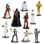 StarWars collection : STAR WARS DISNEY STORE MEGA DELUXE FIGURINE SET 23 LOOSE INDIVIDUAL CHARACTERS