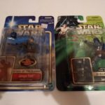 StarWars collection : Star Wars Attack of The Clones Jango Fett lot of 2 action figures AOTC Hasbro
