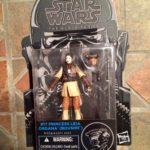 "StarWars figurine : Star Wars Noir Princess Leia Organa Boushh #17 3.75 "" Retour Du Jedi de Tete"