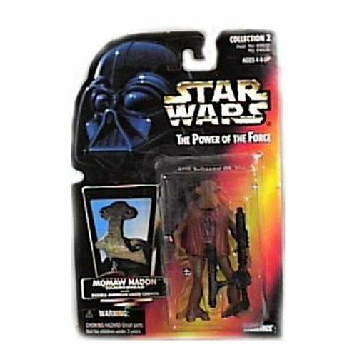 StarWars collection : Star Wars: Pouvoir de la Force Rouge Carte Momaw Nadon (Marteau) Action Figurine