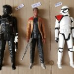 StarWars collection : 59) grande figurine 30cm star wars choix à l'unité Finn ou pilote tie uniquement