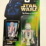 StarWars collection : NEW Kenner 1996 Star Wars POTF R5-D4 with concealed missile launcher figurine FS