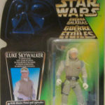 StarWars figurine : Luke Skywalker en Hoth Gear Star Wars puissance de Force Tri-Logo Vert Carte New