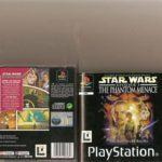 STAR WARS PHANTOM MENACE PLAYSTATION 1 PS1 - jeu StarWars