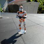 Figurine StarWars : star wars  figurine clone trooper utapau