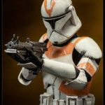 StarWars collection : Star Wars Figure Clone Trooper Deluxe 212th Sideshow