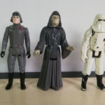 Figurine StarWars : Star Wars Kenner lot 5 figurines Imperial Empereur veers at-st at-at driver snow