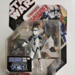 Figurine StarWars : STAR WARS FIGURINE STORMTROOPER COMMANDER SÉRIE THE FORCE UNLEASHED SOUS BLISTER