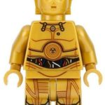 StarWars figurine : Lego Star Wars C-3PO sw700 (From 75159) Droid Droïde Minifigure Figurine New
