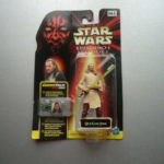 Figurine StarWars :  FIGURINE STAR WARS EPISODE 1 COMMTECH QUI-GON JINN  HASBRO