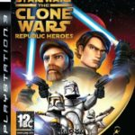 PS3 Star Wars The Clone Wars Republic Heroes - pas cher StarWars