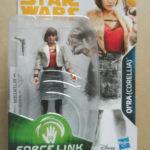 StarWars collection : figurine STAR WARS QI'(CORELLIA) force link  neuf
