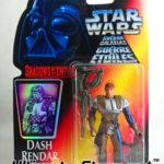 Figurine StarWars : Figurine Dash Rendar 1996 - STAR WARS Shadow of the Empire Neuf sous Blister (2)