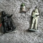 StarWars figurine : Star Wars FIGURINES 7.5 CM Maitre Yoda + Dark Vador + Stormtrooper