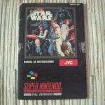SUPER STAR WARS SNES SUPERNINTENDO MANUAL - jeu StarWars