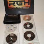 RARE SEGA MEGA CD DISC CASE WALLET PLUS 6 - Bonne affaire StarWars