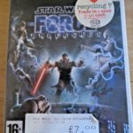 Star Wars The Force Unleashed for Nintendo - pas cher StarWars