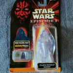 StarWars figurine : STAR WARS - EPISODE 1 - DARTH SIDIOUS HOLOGRAPH COMMTECH CHIP HASBRO