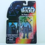 StarWars collection : Star Wars Kenner Lando Bespin figurine MOC carded figure POTF Power of the Force