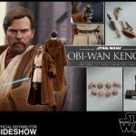 StarWars collection : Figurine Hot Toys Sideshow 1/6 masterpiece Star Wars Obi Wan Kenobi - Neuf