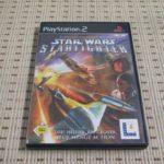 Star Wars Starfighter für Playstation 2 PS2 - Avis StarWars