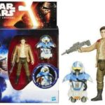 "Figurine StarWars : Star Wars 7 The Force Awakens 3.75"" Figurine poe dameron disney hasbro neuve DVD"