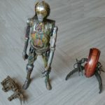 StarWars collection : Figurines Star Wars C3PO & Destroyer 1/6 ème HASBRO